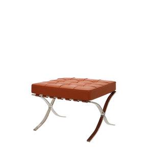 Barcelona Chair Ottoman Cognac