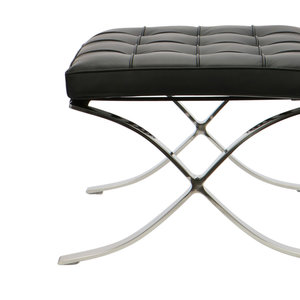 Pavilion chair Pavilion chair Ottoman Premium Zwart