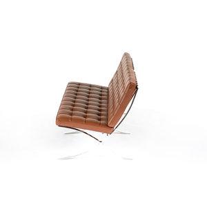 Barcelona Chair Barcelona Premium Tweezits Bank Cognac