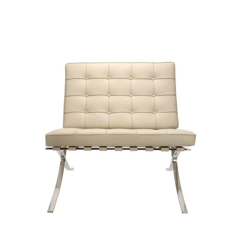 Barcelona Chair Barcelona Chair Premium Greige