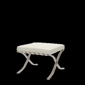 Pavilion chair Ottoman Premium Wit