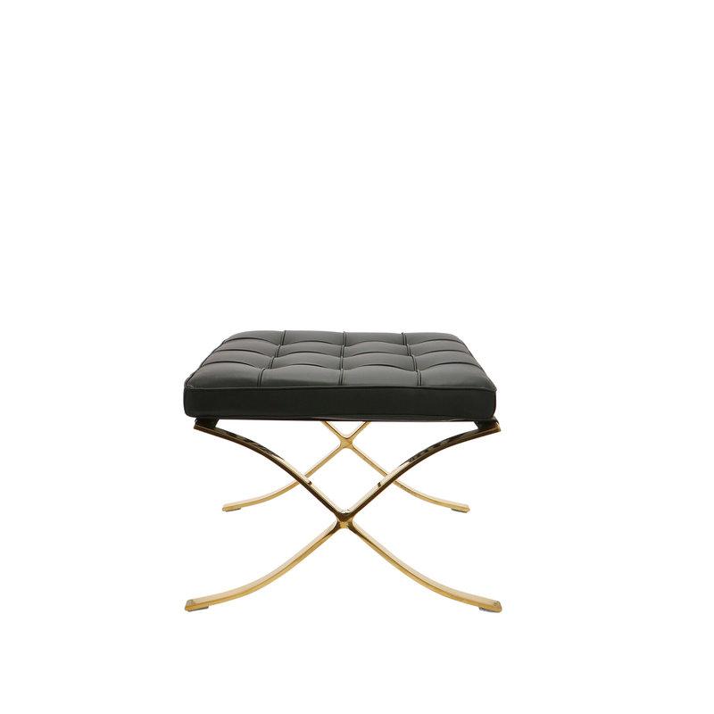 Pavilion chair Pavilion chair Ottoman Premium Zwart / Goud