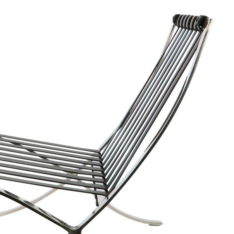 Pavilion chair Pavilion chair Premium Zwart met ottoman