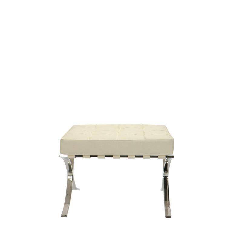 Pavilion chair Chaise Pavilion Ottoman Créme