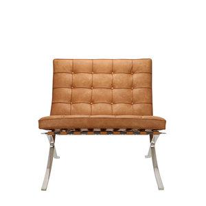 Pavilion chair Chaise Pavilion Premium Vintage Cognac