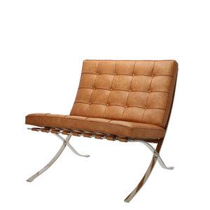 Barcelona Chair Premium Vintage Cognac