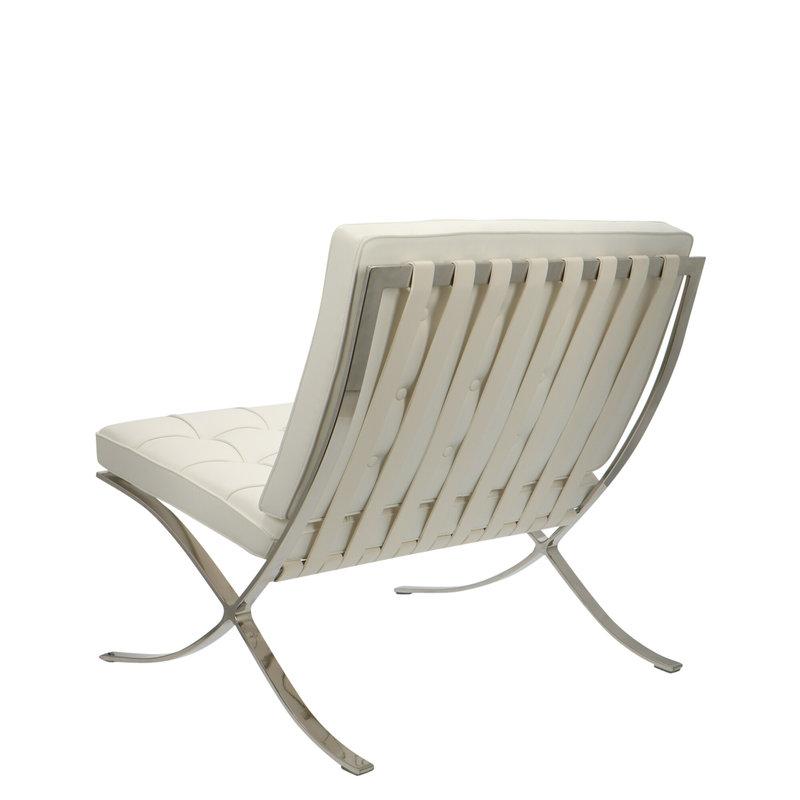 Barcelona chair Barcelona Chair Premium Weiß