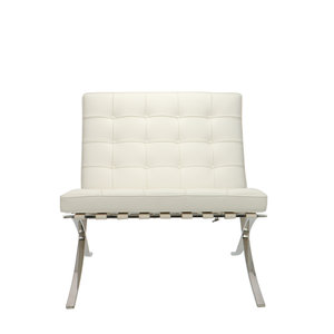 Barcelona chair Barcelona Chair Premium White