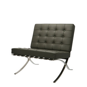 Chaise Barcelona Gris