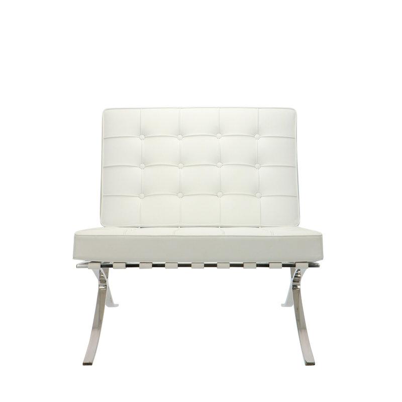 Barcelona chair Barcelona Chair White