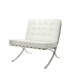 Barcelona Chair Weiß