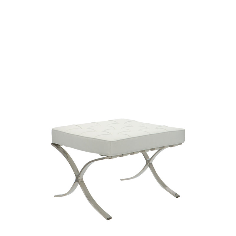 Pavilion chair Chaise Pavilion Ottoman Blanc