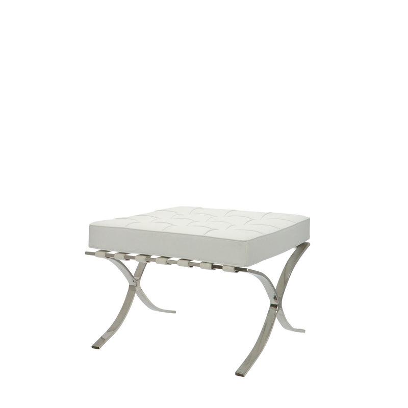 Pavilion chair Pavilion Stol Ottoman Hvid