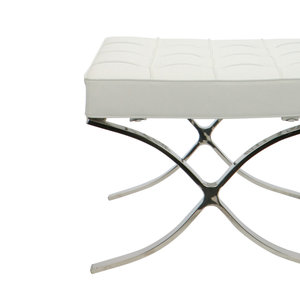 Pavilion chair Pavilion Chair Ottoman White