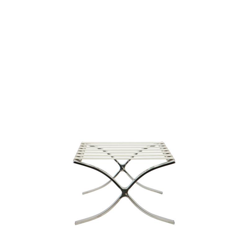 Barcelona chair Barcelona Stol Ottoman Hvid