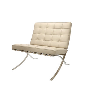 Barcelona Chair Premium Greige
