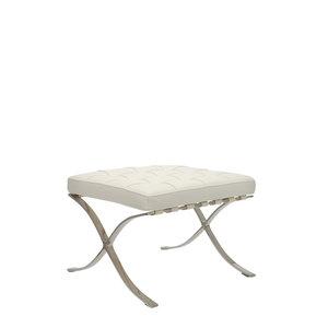 Pavilion chair Pavilion Fåtölj Ottoman Premium Vit