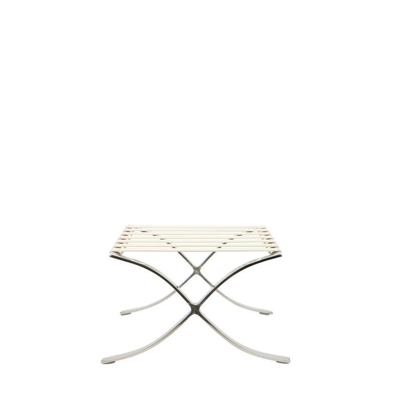 Pavilion chair Chaise Pavilion Ottoman Premium Blanc