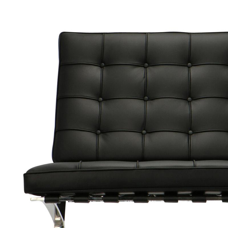 Barcelona chair Barcelona Chair Premium Schwarz
