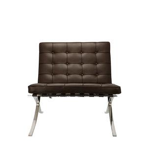 Pavilion chair Pavilion Fåtölj Premium Brun