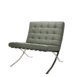 Barcelona Chair Premium Grey