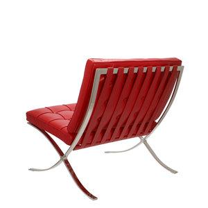 Pavilion chair Pavilion Fåtölj Premium Röd