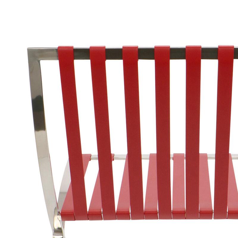 Pavilion chair Chaise Pavilion Premium Rouge