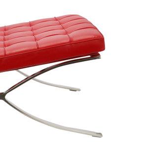 Barcelona chair Barcelona Chair Premium Rot