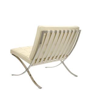 Barcelona chair Barcelona Chair Premium Créme