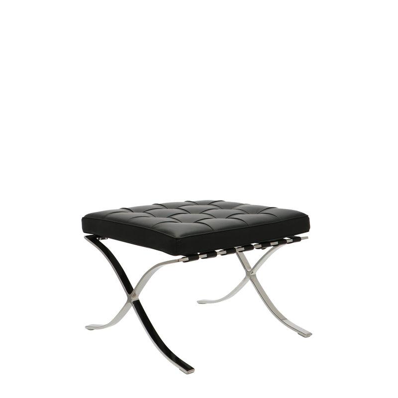 Pavilion chair Pavilion Fåtölj Ottoman Premium Svart