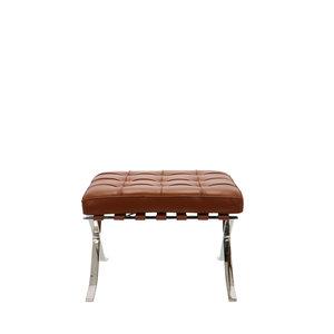 Pavilion chair Chaise Pavilion Ottoman Premium Cognac