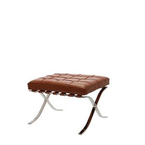 Barcelona Chair Ottoman Premium Cognac