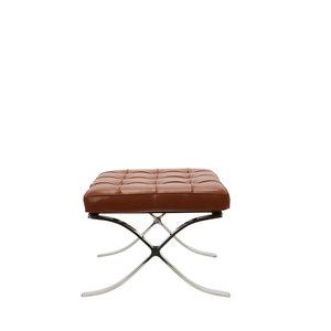 Pavilion chair Pavilion Fåtölj Ottoman Premium Cognac