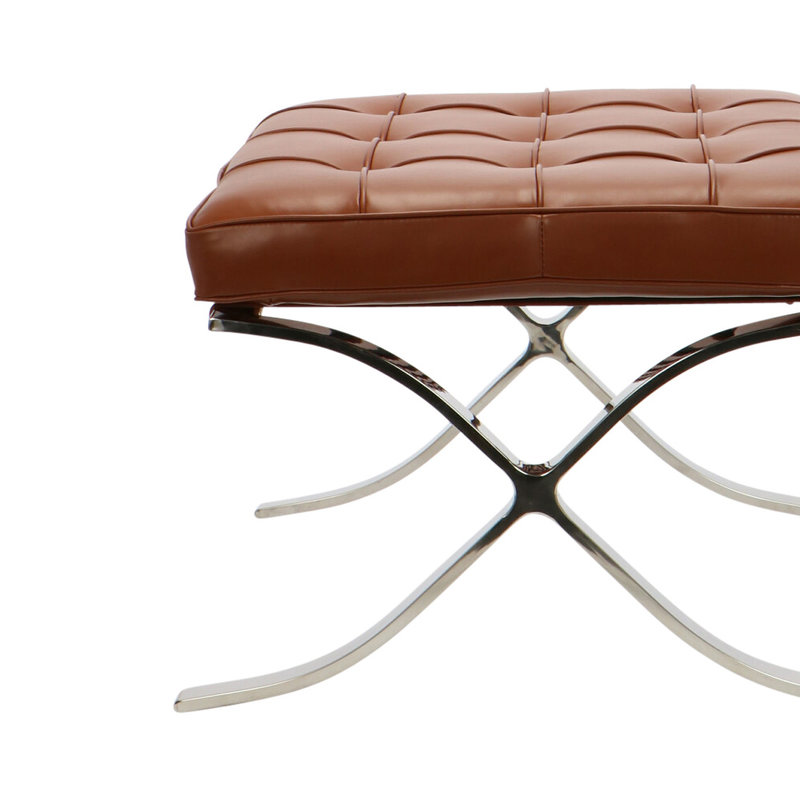 Pavilion chair Pavilion Chair Ottoman Premium Cognac