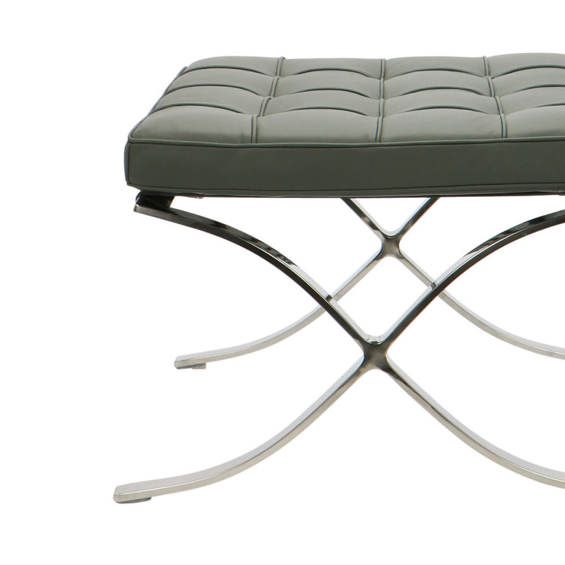Pavilion chair Chaise Pavilion Ottoman Premium Gris
