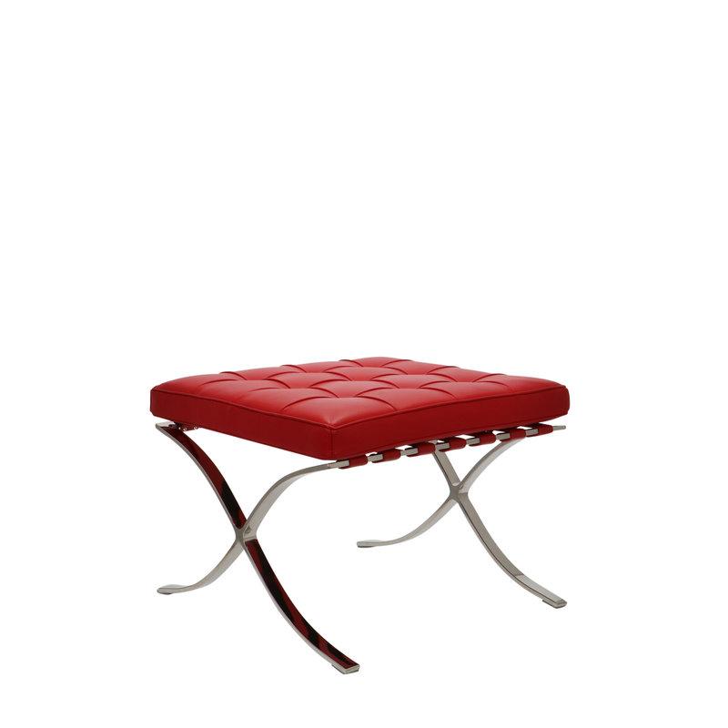 Pavilion chair Chaise Pavilion Ottoman Premium Rouge