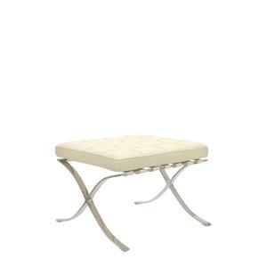 Pavilion chair Pavilion Fåtölj Ottoman Premium Créme