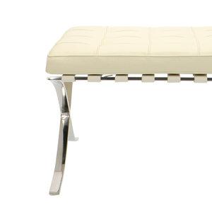 Pavilion chair Chaise Pavilion Ottoman Premium Créme