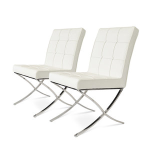 Barcelona Dining Chairs Crème - set of 2