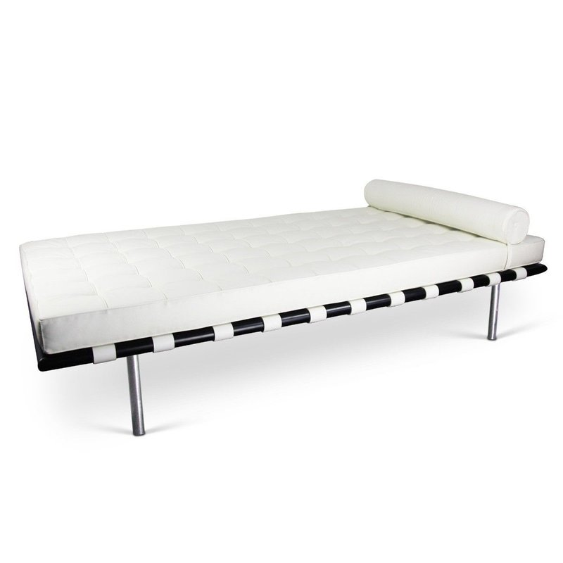 Barcelona chair Barcelona Daybed White