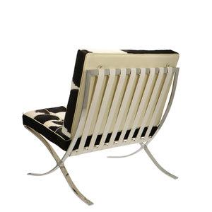 Pavilion chair Pavilion Chair Kuhfell Schwarz/Créme