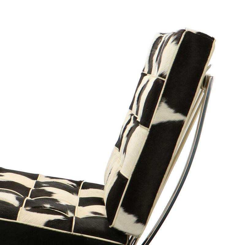 Pavilion chair Pavilion Chair Cowhide Black/Créme
