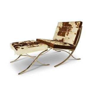 Barcelona chair Barcelona Chair Cowhide Brown/Crème