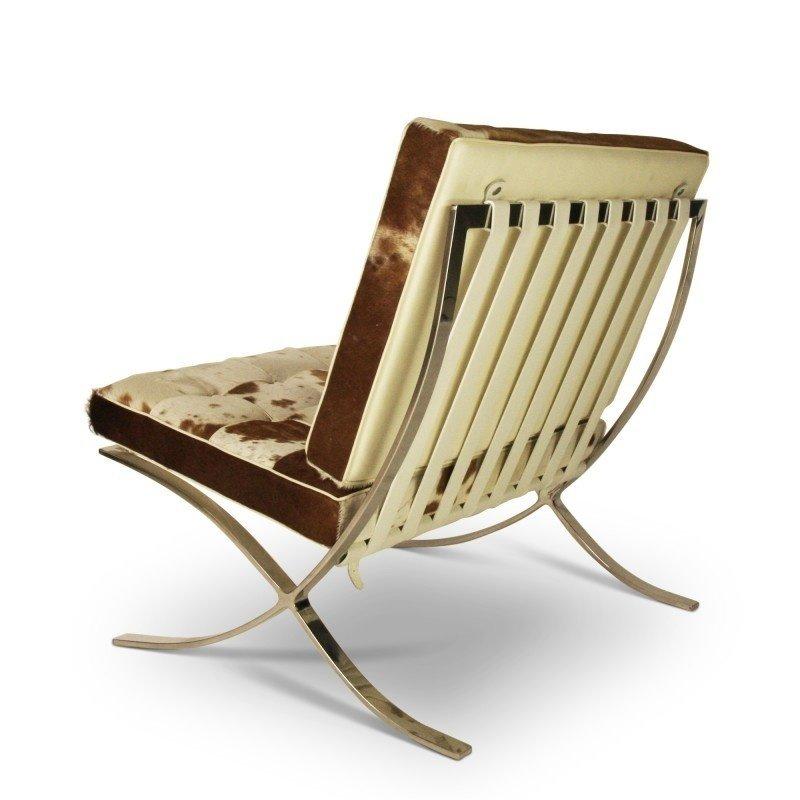 Pavilion chair Pavilion Chair Kuhfell Braun/Créme