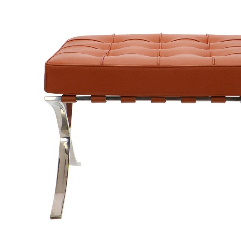 Pavilion chair Chaise Pavilion Ottoman Cognac
