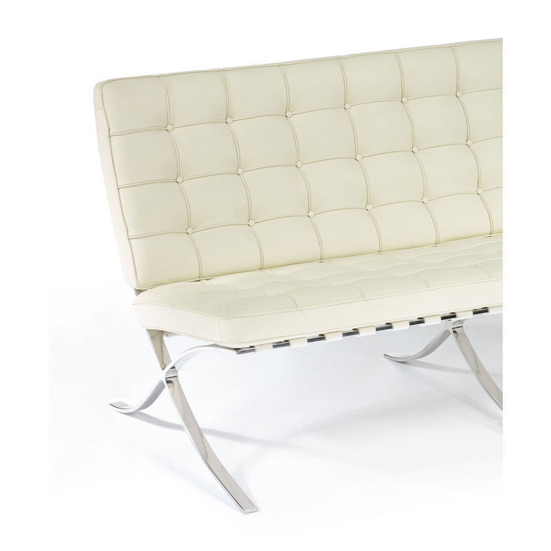 Pavilion chair Pavilion 2-Sitsar Premium Créme