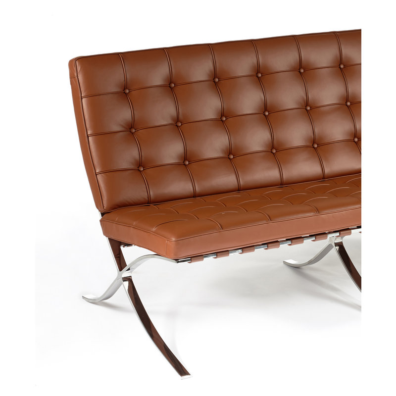 Pavilion chair Pavilion 2 Seater Premium Cognac