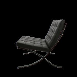 Barcelona chair Barcelona Stol Premium All-Black