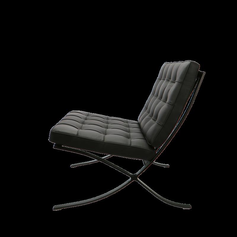 Pavilion chair Chaise Pavilion Premium All-Black