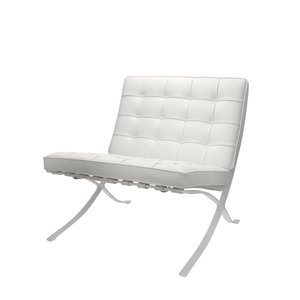 Barcelona Chair Premium All-White